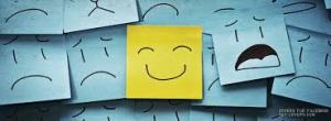 smiling post its